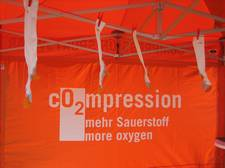 Kompressions-Sportsocken beim Ironman