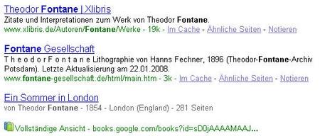 Fontane - Buch als Suchergebnis