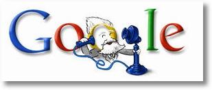 Alexander Graham Bell bei Google