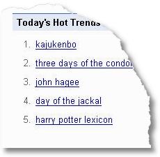 Google Trends mit Kajukenbo