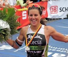 Virginia BERASATEGUI Siegerin Ironman Wiesbaden