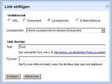 PDF - Inhaltsverzeichnis mit Link erzeugen