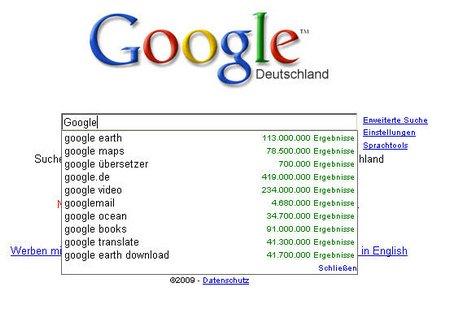 Google klein