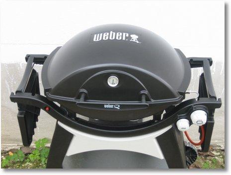 Weber Q 300 schwarz gemoddet